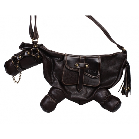 Sac cheval noir