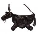 Sac cheval-sac à main bandoulière en forme de cheval
