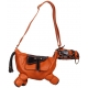 Sac cheval couleur orange