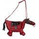 Sac cheval couleur ROUGE