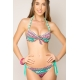 Maillot de bain 2 pièces push up Emeraude