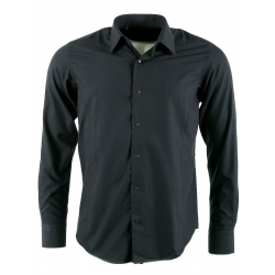 chemise homme gris anthracite Karl