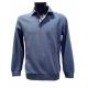 Polo Stil Park bleu clair manches longues col chemise à carreaux-My Dressing