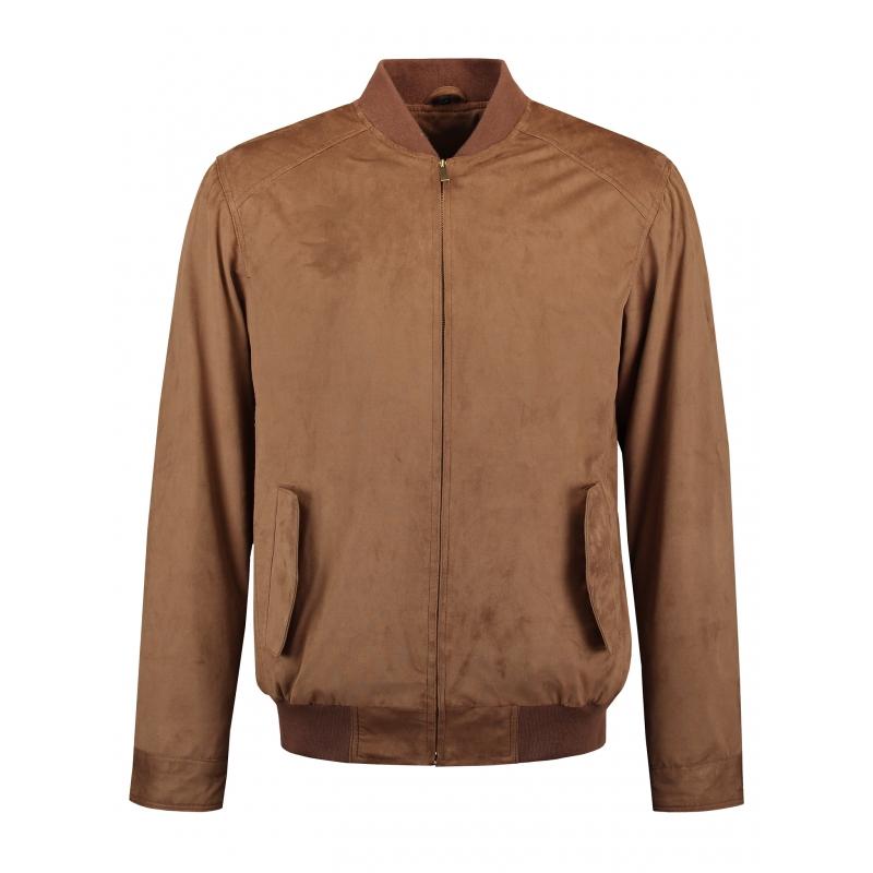 rino pelle blouson zipp en su dine couleur camel clair 2 poches my dressing. Black Bedroom Furniture Sets. Home Design Ideas