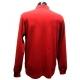 Polo Stil Park couleur rouge manches longues col chemise carreaux-My Dressing