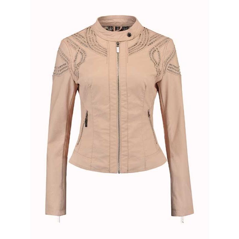 veste faux cuir rose pale les vestes la mode sont populaires partout dans le monde. Black Bedroom Furniture Sets. Home Design Ideas