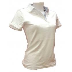Polo femme Stil Park manches courtes blanc-My Dressing