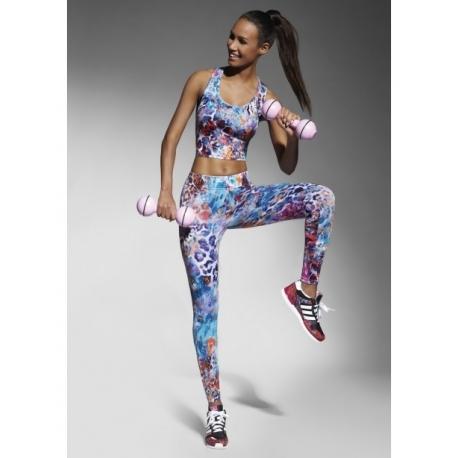 Legging de sport femme imprimé Bas Bleu-My Dressing