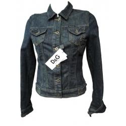 Dolce & Gabbana veste en Jeans cintrée femme