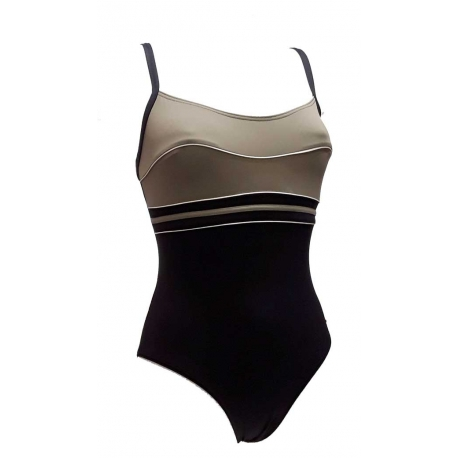 Ocean Wear maillot une piece femme bicolore-My Dressing