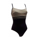 Ocean Wear maillot une piece femme bicolore