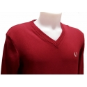 Pull homme Fred Perry Col V 100% coton