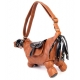 Sac cheval couleur CAMEL