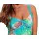 Tankini Ocean Wear imprimé Tropiques maillot de bain