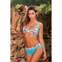 Maillot 2 pièces femme Ocean Wear forme soutien gorge turquoise
