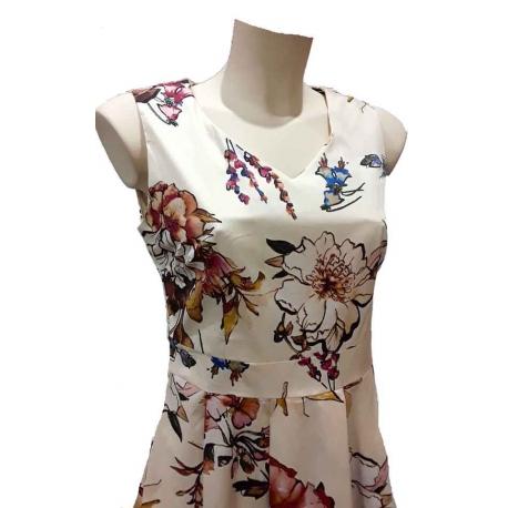 Sweet Miss Robe vintage style Audrey Hepburn fleuries-My Dressing