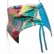 Ocean Wear maillot de bain culotte maxi haute imprimé Tropique-My Dressing