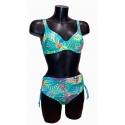 Ocean Wear maillot de bain culotte maxi haute imprimé Tropiques
