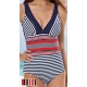 Maillot 1 pièce forme triangle Marinette