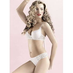 soutien gorge push up moulé bonnets lisses sawren par My Dressing