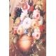 Robe Sweet Miss décor tableau bouquet de fleur