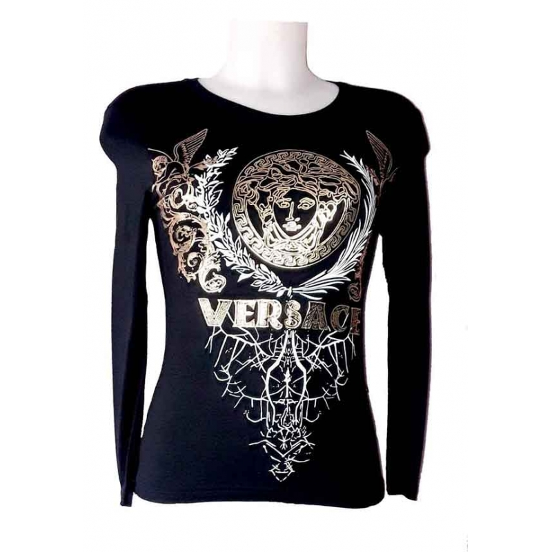 T-shirt Versace femme manches longues-My Dressing. Loading zoom 50574d92dc9