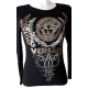 T-shirt Versace femme manches longues-My Dressing