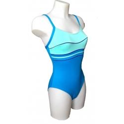 Ocean Wear maillot une piece femme bicolore bleu-My Dressing