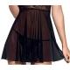 Nuisette et string noire Obsessive My Dressing