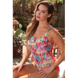 Ocean Wear maillot une pièce femme imprimé dos nu-My Dressing