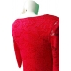 Robe en dentelle rouge- My Dressing
