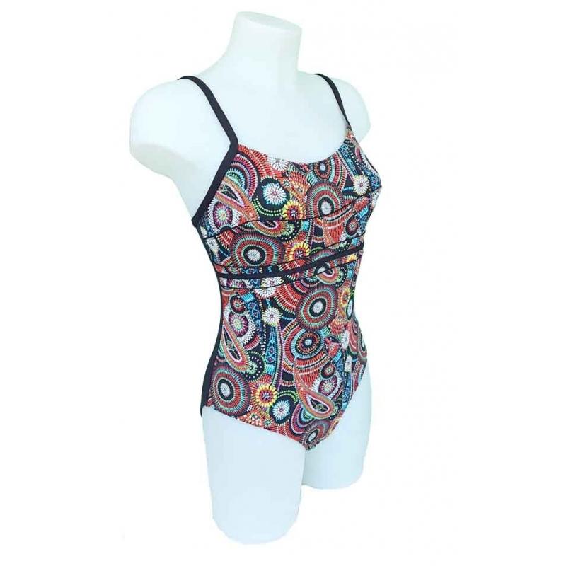 4bdfdc1416 Ocean Wear maillot de bain une pièce femme inédit noir haut préformé