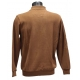 Polo Stil Park manches longues camel col polo