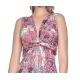 Sweet Miss robe longue imprimé arabesques