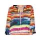 Robe chemise colorée à manches sweet miss