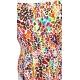 Maillot 1 piece dos nu imprimé léopard coloré-My Dressing