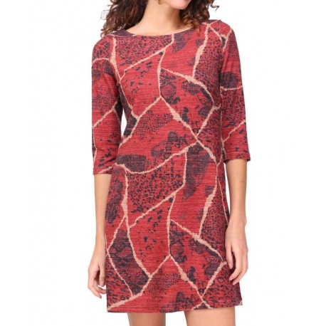 Robe Sweet Miss rouge femme hiver - My Dressing