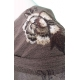Robe hiver à broderies manche longue Lulu H
