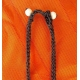 Collier ras de cou ethnique marron