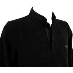 Stil Park Polo noir col mao