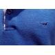 Stil Park Polo bleu roi manche longue col carreaux