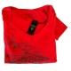 Tee shirt femme rouge Guess