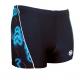 Ocean Wear maillot de bain homme noir côté imprimé-My Dressing