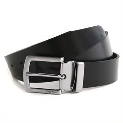 Ceinture Calvin Klein Collection réversible noir marron