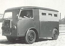 première camionnette TUB Citroën