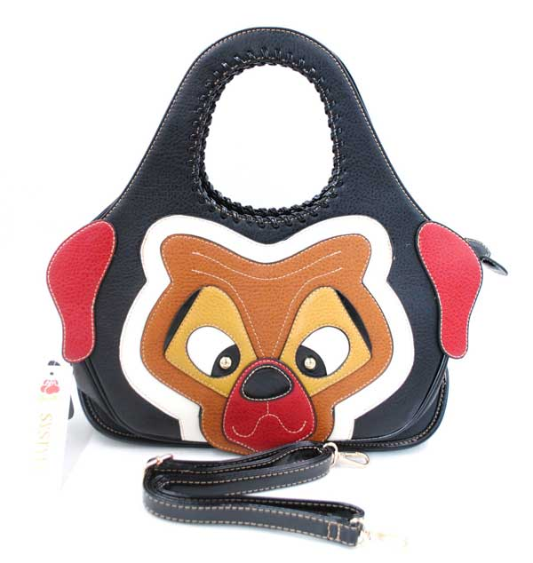 Sac chien noir Systyle