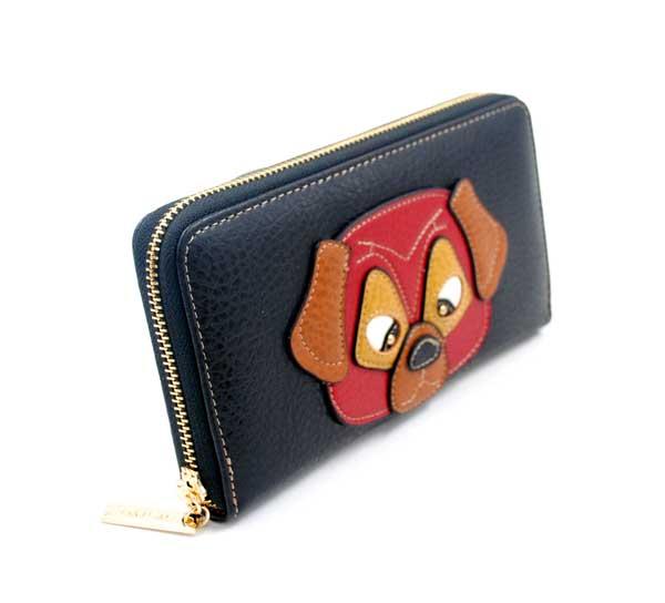 portefeuille chien assortit au sac